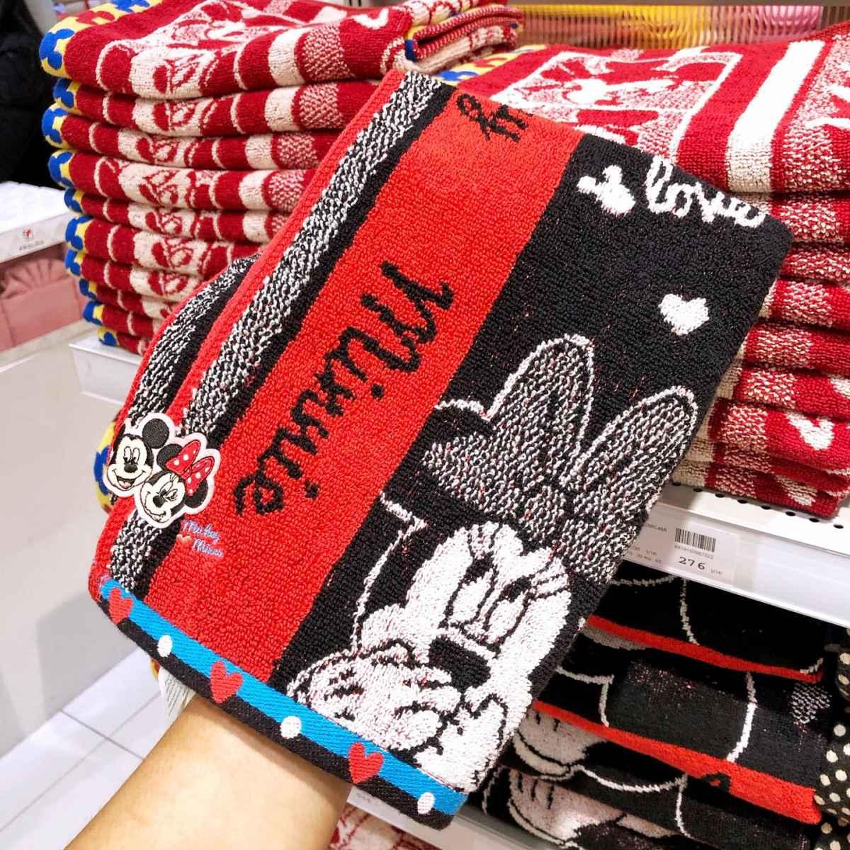 ผ้าเช็ดผม Mickey & Minnie