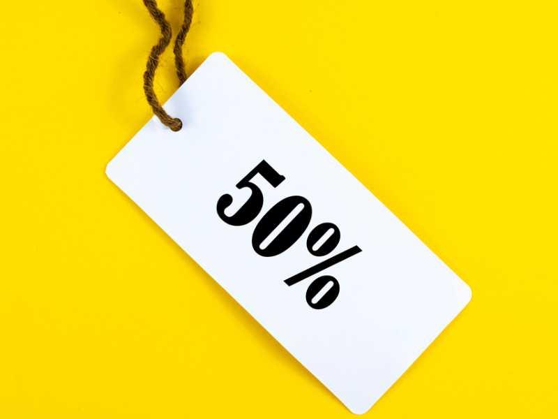 ลด 50%